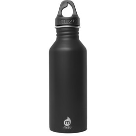MIZU M5 juomapullo with Black Loop Cap 500ml , musta